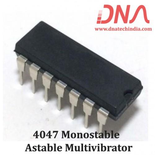 4047 Monostable - Astable multivibrator