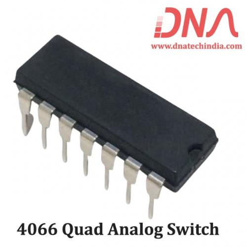 4066 Quad analog switch