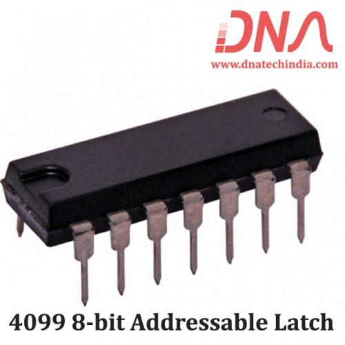 4099 8-bit Addressable Latch