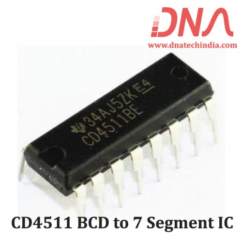 CD4511 BCD to 7 Segment IC