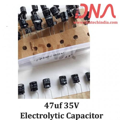 47uf 35V Electrolytic Capacitor
