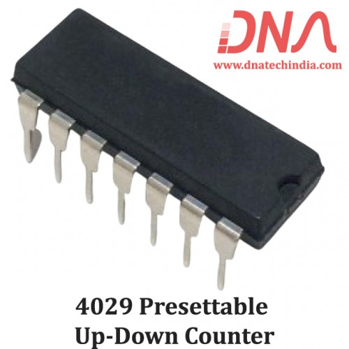 4029 Presettable up-down counter