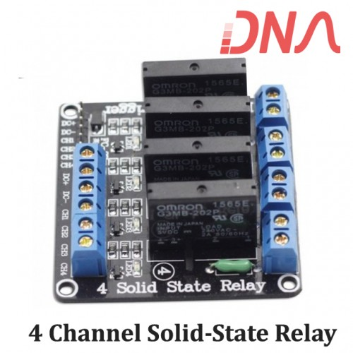 4 Channel Solid-State Relay