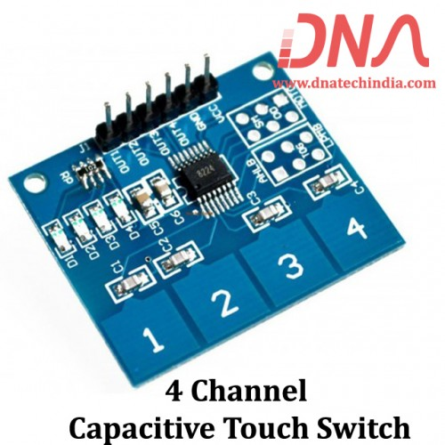 4 channel  Capacitive Touch Switch