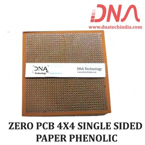 ZERO PCB 4X4 SINGLE SIDED PAPER PHENOLIC