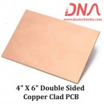"4""x 6"" Double Sided Copper Clad PCB"