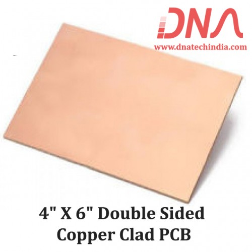 """4""""x 6"""" Double Sided Copper Clad PCB"""