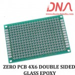 ZERO PCB 4X6 cm DOUBLE SIDED GLASS EPOXY