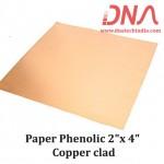 "Paper Phenolic 2""x 4"" Copper Clad"