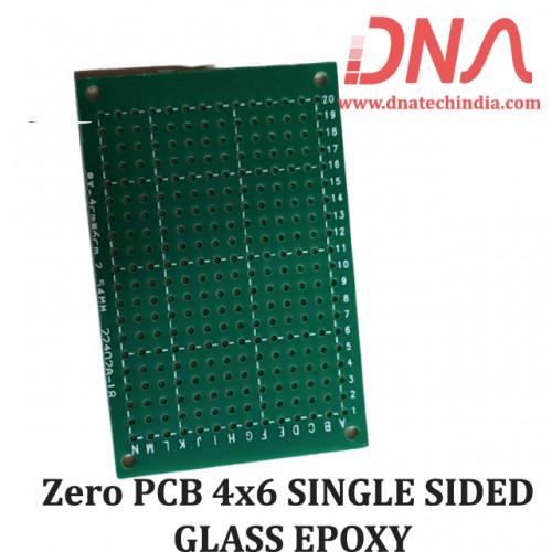 Zero PCB 4x6 SINGLE SIDED GLASS EPOXY