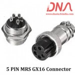 5 PIN MRS GX16 Connector