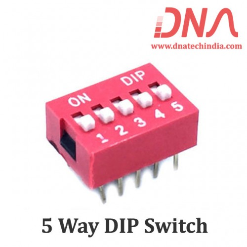 DIP switch 5 Way