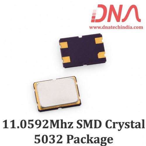 SMD5032 11.0592 Mhz Crystal Oscillator
