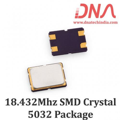 SMD5032 18.432 Mhz Crystal Oscillator