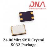 SMD5032 24.00 Mhz Crystal Oscillator