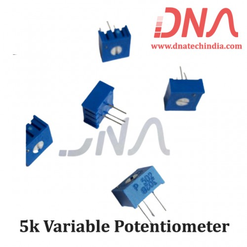 5k Variable Potentiometer