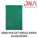 ZERO PCB 5X7 SINGLE SIDED GLASS EPOXY
