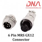 6 PIN MRS GX12 Connector