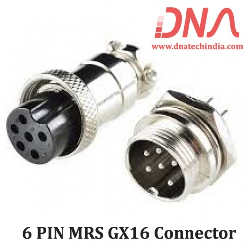 6 PIN MRS GX16 Connector