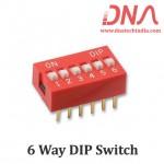 DIP switch 6 Way