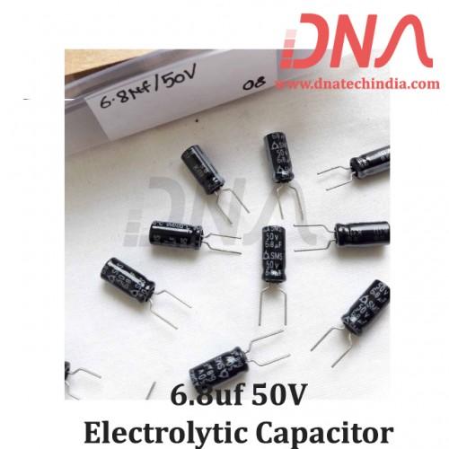 6.8uf 50V Electrolytic Capacitor
