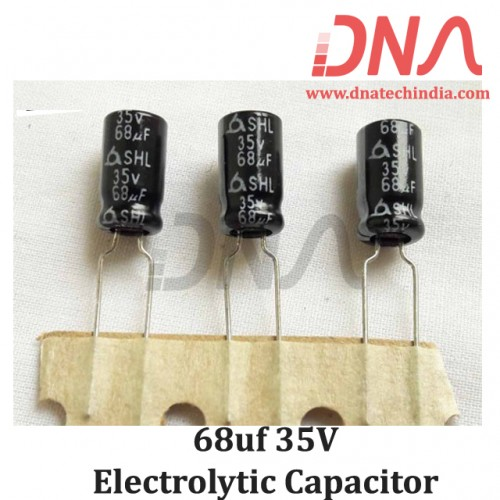 68uf 35V Electrolytic Capacitor