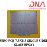 ZERO PCB 7.5X8.5 SINGLE SIDED PAPER PHENOLIC