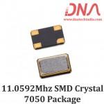 SMD7050 11.0592 Mhz Crystal Oscillator
