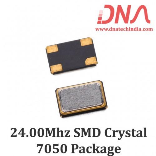 SMD7050 24.00 Mhz Crystal Oscillator