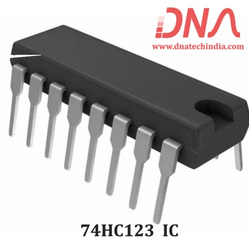 74HC123 Dual retriggerable monostable multivibrator IC