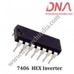 7406 HEX INVERTER BUFFERS