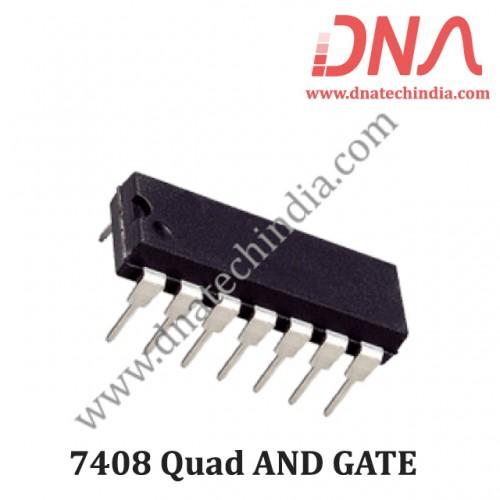 7408 Quad AND GATE