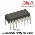 74151 Data Selectors/Multiplexers