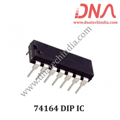 74164 8-bit serial-in, parallel-out shift register