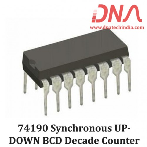 74190 Synchronous UP/DOWN BCD Decade Counter