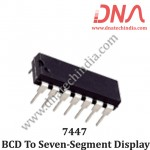 7447 BCD to Seven-segment display