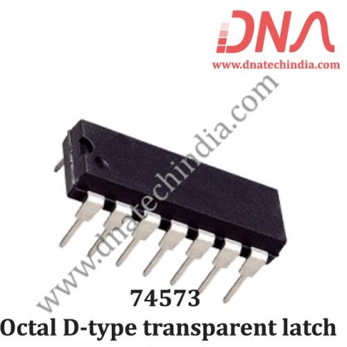 74573 Octal D-type transparent latch