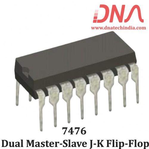 7476 Dual Master-Slave J-K Flip-Flop