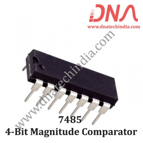 7485 4-Bit Magnitude Comparator