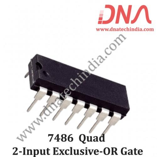 7486 Quad 2-Input Exclusive-OR Gate