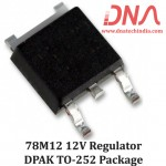 MC78M12 12 Volts SMD  Voltage Regulator (DPAK TO-252 Package)