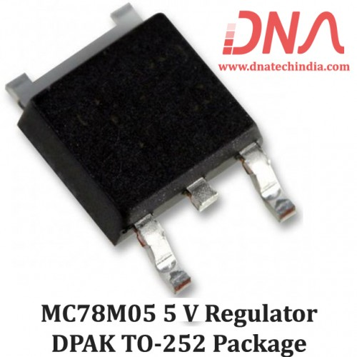 MC78M05 5 Volts SMD  Voltage Regulator (DPAK TO-252 Package)