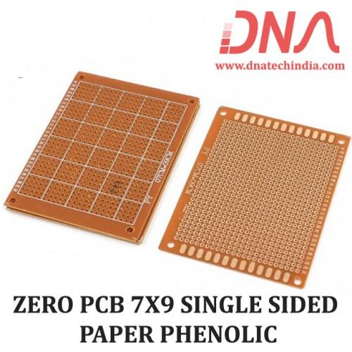 ZERO PCB 7X9 SINGLE SIDED PAPER PHENOLIC
