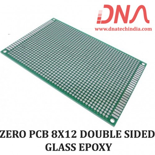 ZERO PCB 8X12 DOUBLE SIDED GLASS EPOXY