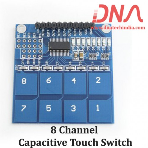 8 channel Capacitive Touch Switch