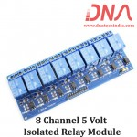 8 Channel 5 Volt Isolated Relay Module