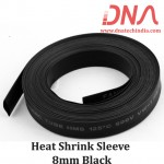 Heat Shrink Sleeve 8mm Black
