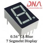 "0.56"" Blue CA 7 Segment Display"