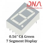 "0.56"" Green CA 7 Segment Display"