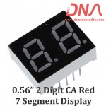 "0.56"" Two Digit RED CA 7 Segment Display"
